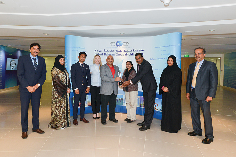 Hat trick for Bahwan IT with Microsoft Country Partner Award